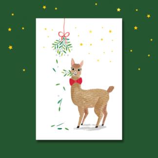 Kerst alpaca